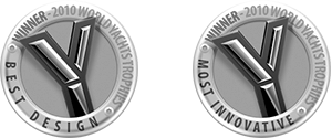 Best Design Trophy Most Innovative Yacht Trophy Cannes Boat Show 2010