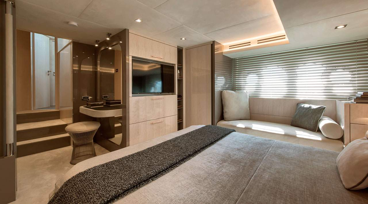MCY 66 VSION - Owner Cabin