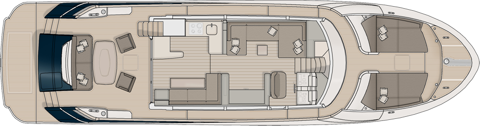 Main Deck Galley Aft