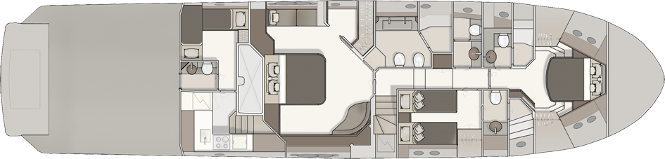 Lower Deck 3 Cabins
