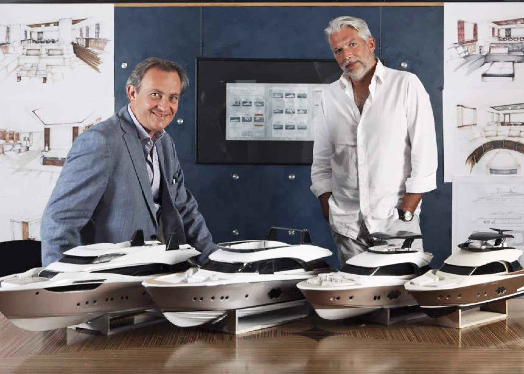 Together with Carlo Nuvolari and Dan Lenard, Monte Carlo Yachts has redefined the meaning of words such as style, functionality and customization.