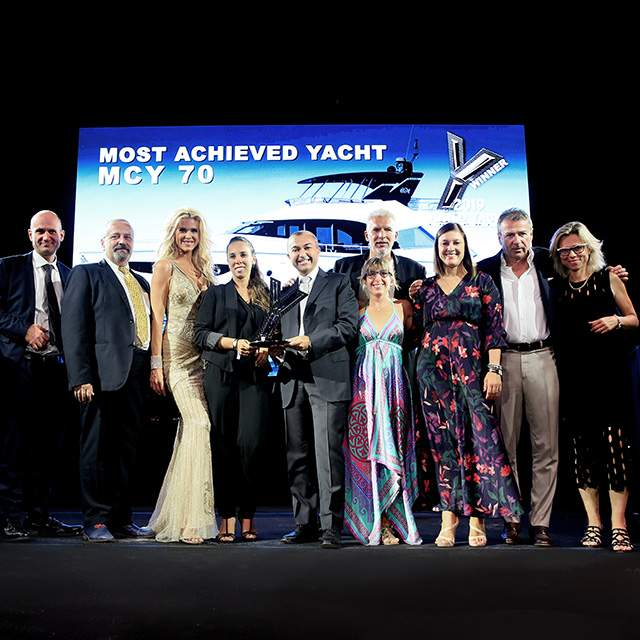 "MCY 70: The ""Most achieved Yacht"" 2019"