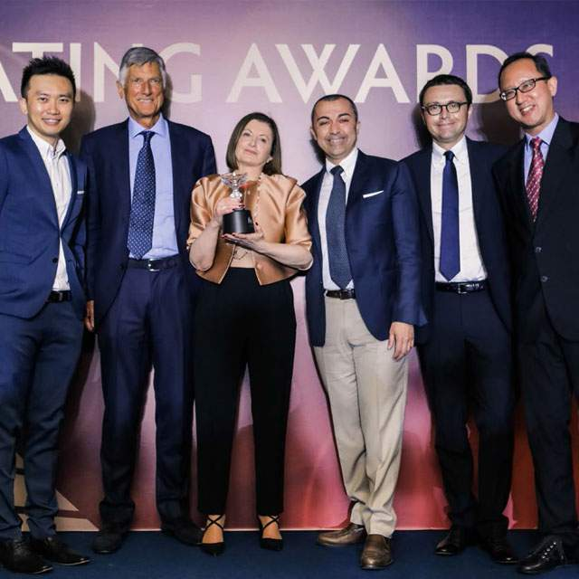 "MCY 96 vince il ""Best Flybridge Yacht"" all'Asia Boating Awards 2018"