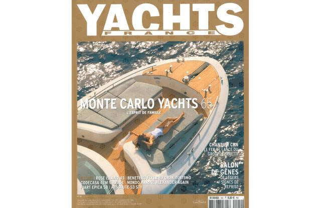 Cover MCY 65 - Yacht France