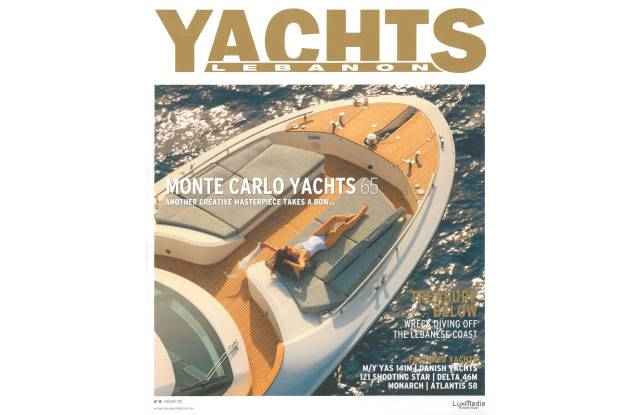 Cover MCY 65 - Yachts Lebanon