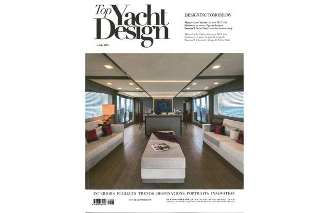 Cover MCY105 - Top Yacht Design