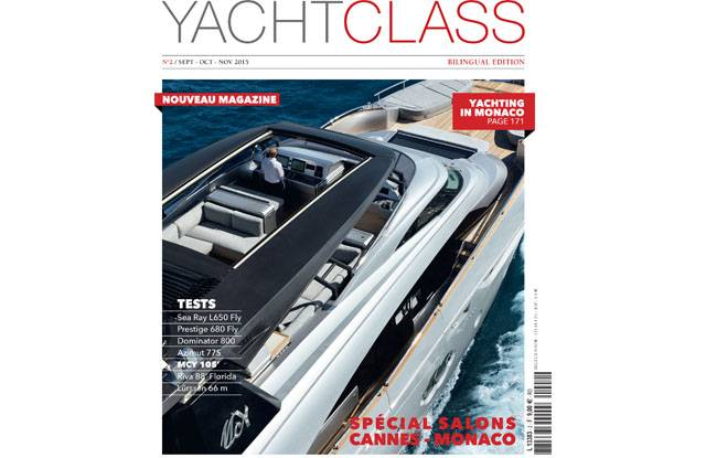 Cover MCY105 - Yacht Class