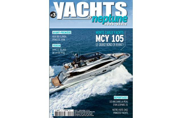 Cover MCY105 - Yachts by Neptune