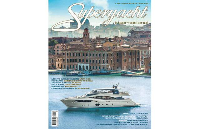 Cover MCY105 - Superyacht International ita